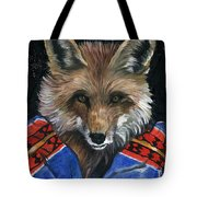 Fox Medicine Tote Bag