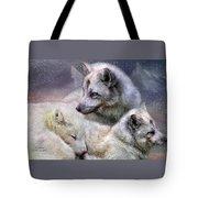Fox Moods Tote Bag