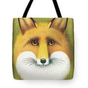 Fox Portrait Tote Bag
