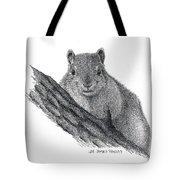 Fox Squirrel Tote Bag