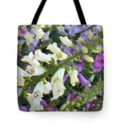 Foxglove Fancy Tote Bag