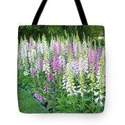 Foxglove Garden Tote Bag