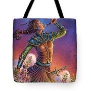 Foxglove - Summon Your Courage Tote Bag by Anne Wertheim
