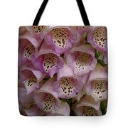 Foxglove Upclose Tote Bag