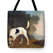 Foxhound On The Scent Tote Bag