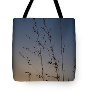 Foxtail Sunset Tote Bag