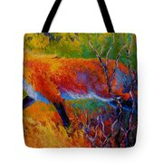 Foxy - Red Fox Tote Bag