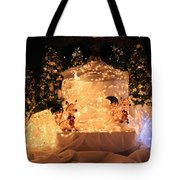 Foxy Christmas Decoration Tote Bag