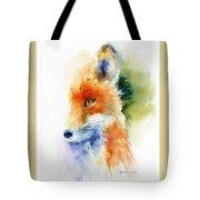 Foxy Impression Tote Bag