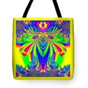 Fractal 31 Psychedelic Love Explosion Tote Bag
