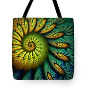 Fractal Abstract 061710 Tote Bag