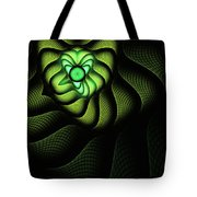 Fractal Cobra Tote Bag by John Edwards
