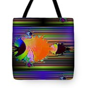 Fractal Fishy Tote Bag