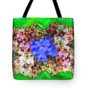 Fractal Flower Garden Tote Bag