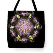 Fractal Flowers 10-20-09 Tote Bag