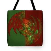 Fractal Grasp Tote Bag