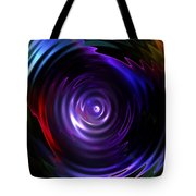 Fractal Lake Tote Bag