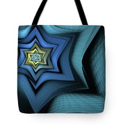 Fractal Star Tote Bag
