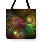 Fractal Swirls Tote Bag