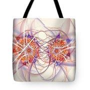 Fractal Synapse Tote Bag
