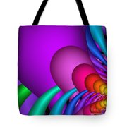 Fractalized Colors -1- Tote Bag