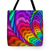 Fractalized Colors -10- Tote Bag by Issabild -