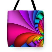 Fractalized Colors -2- Tote Bag by Issabild -