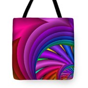 Fractalized Colors -3- Tote Bag