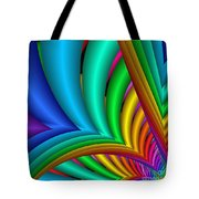 Fractalized Colors -4- Tote Bag