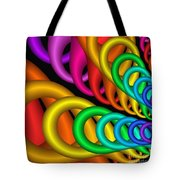 Fractalized Colors -5- Tote Bag by Issabild -