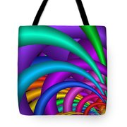 Fractalized Colors -6- Tote Bag by Issabild -
