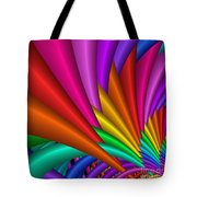 Fractalized Colors -7- Tote Bag by Issabild -
