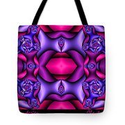 Fractals By Design Tote Bag