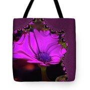 Fractual Flower  Tote Bag