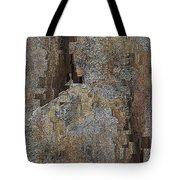 Fracture Frenzy Tote Bag