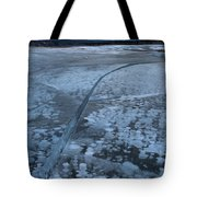Fracture Through The Bubbles Tote Bag