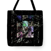 Fractured Fractals Tote Bag