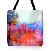 Fractured Landscape Tote Bag