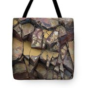Fractured Layers Tote Bag