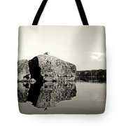 Fractured Rock Tote Bag