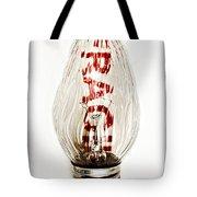 Fragile Light Bulb Tote Bag