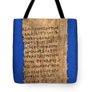 Fragment Of Hippocratic Oath, 3rd Tote Bag