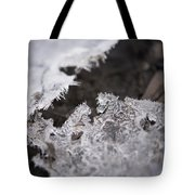 Fragmented Ice Tote Bag