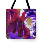 Fragmented Tote Bag