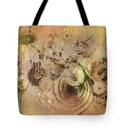 Fragmented Time Tote Bag
