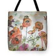 Fragrance  Of Garden Album Tote Bag