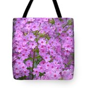 Fragrant Phlox Tote Bag