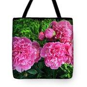 Fragrant Pink Peonies Tote Bag