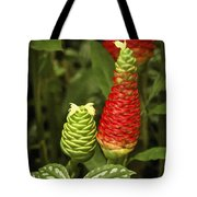 Fragrant Red Tote Bag by Carolyn Marshall