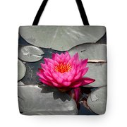 Fragrant Water Lily Tote Bag